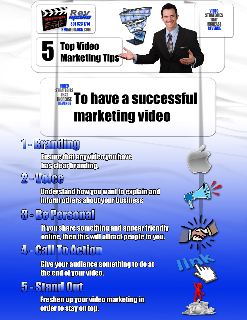 5 Top Video Marketing Tips to have a Successful Marketing Video, Video Production, Salt Lake Utah