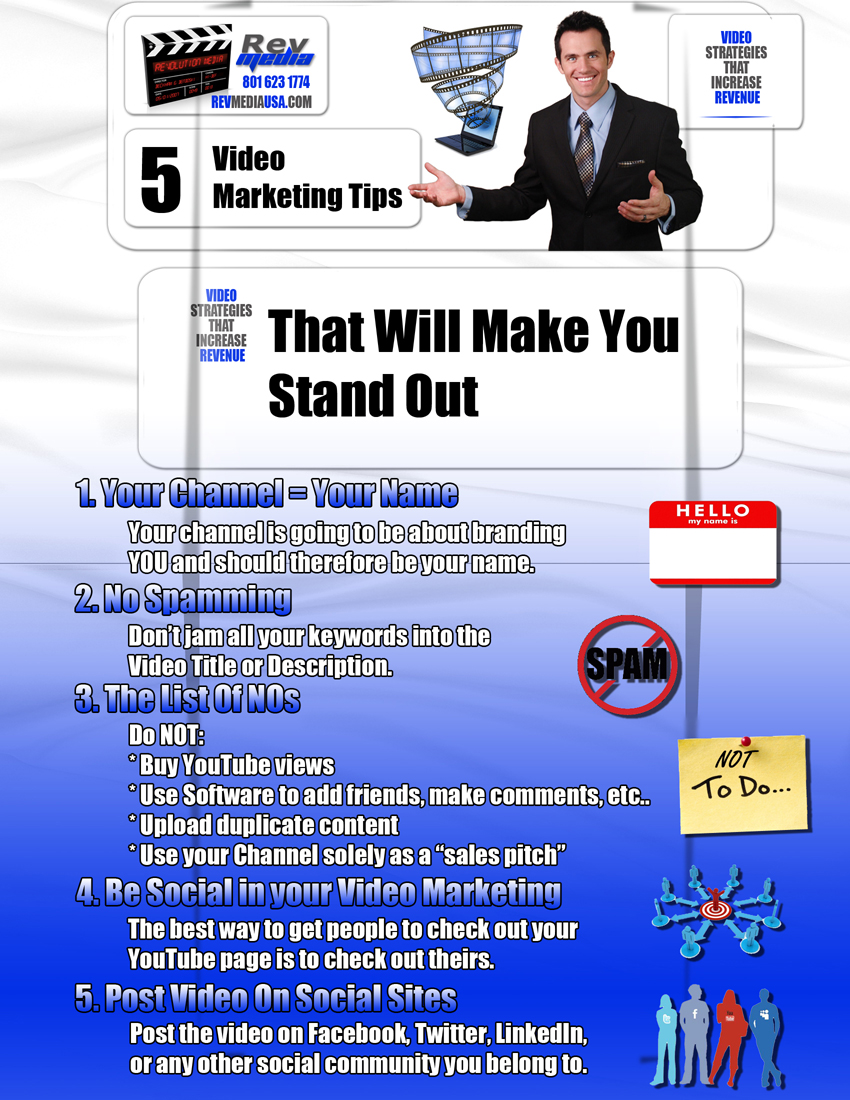 5 Video Marketing Tips that will Make You Stand Out, Video Marketing, Salt Lake Utah